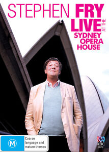 Stephen Fry - Live At The Sydney Opera House (DVD, 2010) New/Sealed
