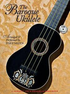 NEW The Baroque Ukulele (Book/CD Package) - A Jumpin' Jim's Ukulele Songbook