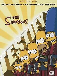 Selections From the Simpsons Testify PVG