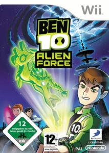 Ben 10: Alien Force (Nintendo Wii, 2009, DVD-Box)