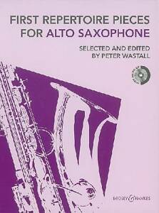 First Repertoire Pieces for Alto Saxophone by Peter Wastall (Mixed media...