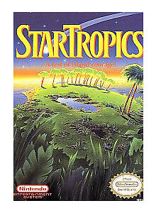 STAR-TROPICS-with-cosmetic-flaws-ORIGINAL-SYSTEM-GAME-NINTENDO-NES-HQ