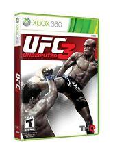 UFC Undisputed 3 Xbox 360   New