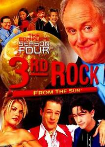 BRAND NEW 3RD ROCK FROM THE SUN THE COMPLETE FOURTH SEASON JOHN LITHGOW LOOK!!!!