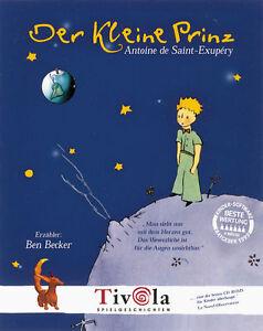 Der kleine Prinz (PC/Mac, 1998) - Ben Becker - Deutschland - Der kleine Prinz (PC/Mac, 1998) - Ben Becker - Deutschland