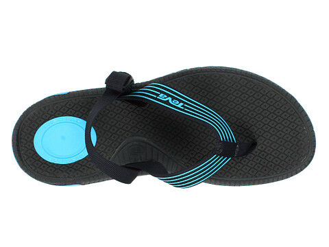 8e9a521399757e Teva began specializing in sport sandals in 1984 with the mission to both  protect feet and allow wearers to play. The Katavi flip-flop is equipped  with a ...