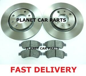 CITROEN XSARA PICASSO 02 ON  2 FRONT BRAKE DISCS & PADS