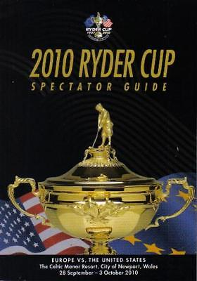 * 2010 RYDER CUP SPECTATOR GUIDE - EUROPE v USA *