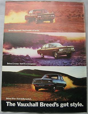 Vauxhall Viscount, Cresta & Viva Original advert