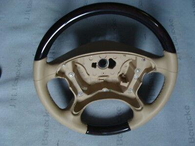 1 holzlenkrad Lenkrad SL CLS  holz w219 AMG w209 R230 steering wheel wood r 230 online kaufen