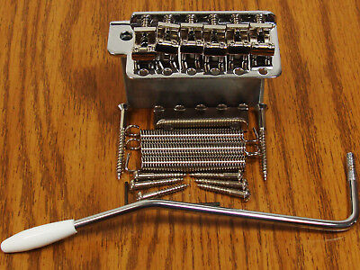 NEW Chrome Vintage Strat TREMOLO Bridge for Fender Stratocaster Guitar on Rummage