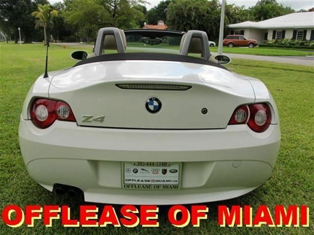 Bmw Z4 Low Miles White Amp Tan All Options Like New White