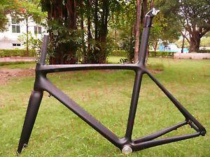 Full Carbon bicycle&Road bike ISP Frame&Fork 54cm matt black