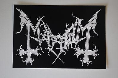 Mayhem Sticker Decal (S238)