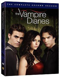 THE VAMPIRE DIARIES The Complete Second Season Two 2 DVD 5-Disc Box Set