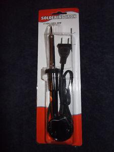 Soldering-Iron-30-Watt-30W-110-120V-Pencil-Type-New-NIB