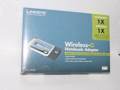 Linksys Wpc54g Wireless Wifi Pcmcia Card 2.4ghz