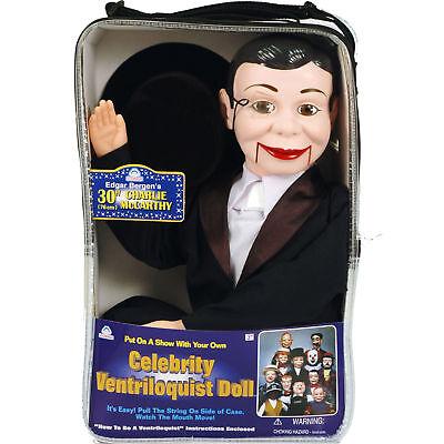 Charlie Mccarthy Ventriloquist Dummy Doll Puppet