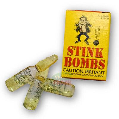 Stink Bombs - 3 Viles Of Pure Stinky Gag Fart Prank