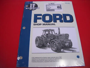 FORD-I-T-SERVICE-REPAIR-SHOP-MANUAL-SERIES-MODEL-TW5-TW15-TW25-TW35-TRACTOR-FO45