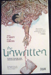 THE UNWRITTEN DC VERTIGO COMICS PAPERBACK TPB