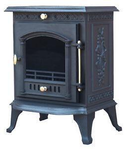bow wood burning stove woodburning woodburner cast iron fireplace fire