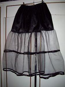50er vintage nylons unterrock petticoat dirndl 48 50 52. Black Bedroom Furniture Sets. Home Design Ideas