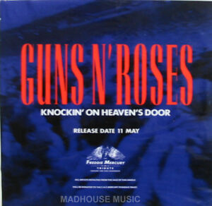 GUNS-N-ROSES-Window-STICKER-Decal-UK-PROMO-Only-PVC-Knockin-On-Heavens-Door