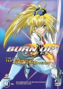 BURN UP EXCESS 1 JAP ANIME DVD *NEW+SEALED* R4