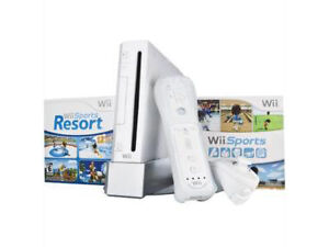 Nintendo Wii Sports Resort Pack White Co...
