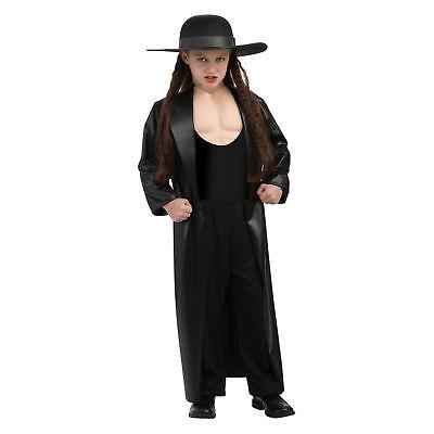 Child Kids WWE Wrestling Undertaker Deluxe Costume