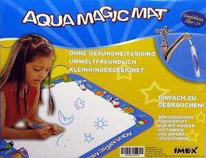 Kinder Aqua Magic Matte wie Aqua Doodle Malen nur mit Wasser kein Fleckenrisiko
