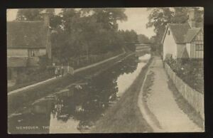 Bucks-WENDOVER-Canal-at-Halton-1916-PPC