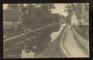 Bucks-WENDOVER-Canal-at-Halton-1916-PPC