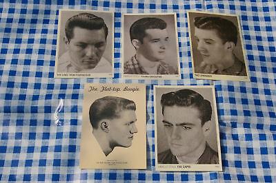 Rockabilly: Vintage Hairstyling Frisurenkarte Set