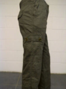 Womens-BHS-Cargo-Combat-Trousers-Olive-Green-Size-18