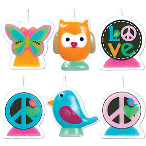 Hippy-Hippie-Chick-Party-GIRL-PEACE-SIGN-LOVE-CANDLES