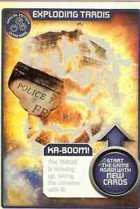 DR WHO MONSTER INVASION ULTRA RARE - EXPLODING TARDIS