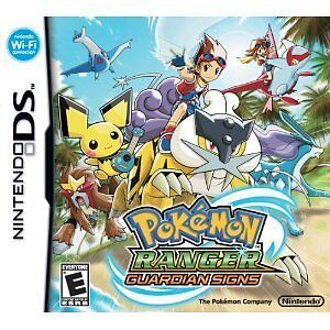 Pokemon Ranger: Guardian Signs DS Lite DSi XL Brand New