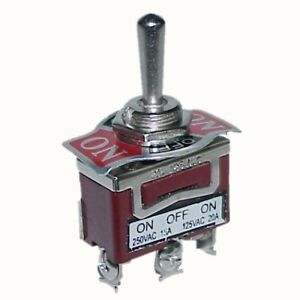 heavy duty a263 toggle switch 3 pins spdt on off on ebay SPDT Toggle Switch Momentary Contact SPDT Toggle Switch 12V
