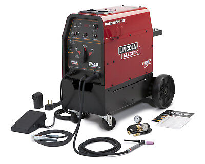 LINCOLN PRECISION TIG 225 READY-PAK w CART - K2535-2 Tools and Accessories on Sale
