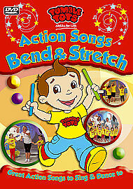 Tumble Tots : Action Songs - Bend and Stretch DVD (2011) Sally Gunnell FREE POST