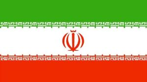 IRAN FLAG 5FT X 3FT