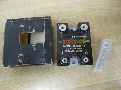 Opto 22 480d15-12 Solid State Relay 480d1512