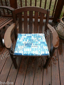 West Elm Pottery Barn Outdoor Patio Chair Cushion 22x18