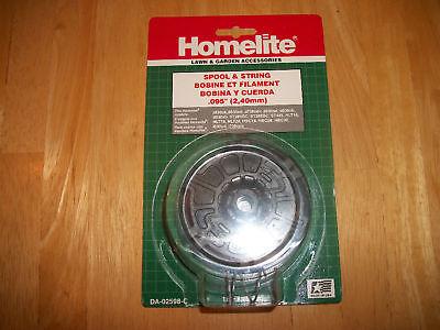 Homelite Trimmer 095 Spool With Spring Da-02598-c