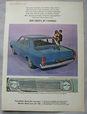 1965 Vauxhall Cresta Original advert No.2