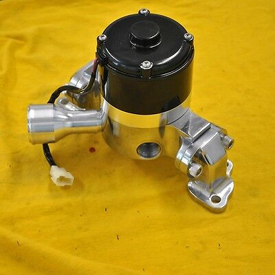 BBC Big Block Chevy Electric Water Pump High Volume High Flow Polished Aluminum