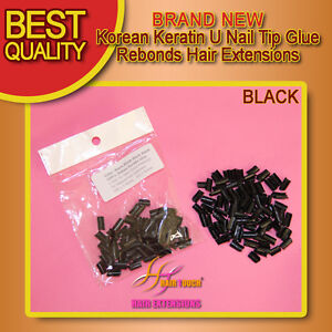 Korean-Keratin-U-Nail-Tip-Glue-rebonds-Hair-Extension