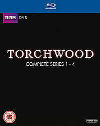TORCHWOOD - SERIES 1 TO 4 - BLU-RAY - REGION B UK